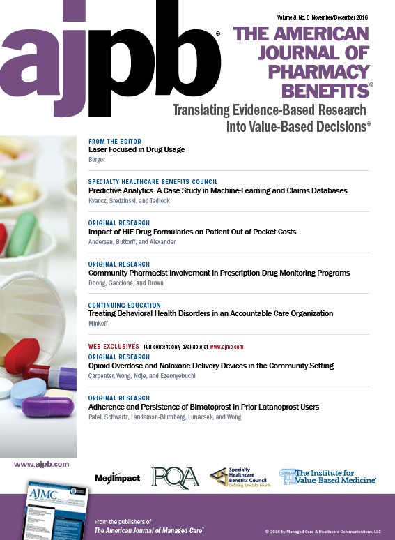 November/December 2016 publication cover